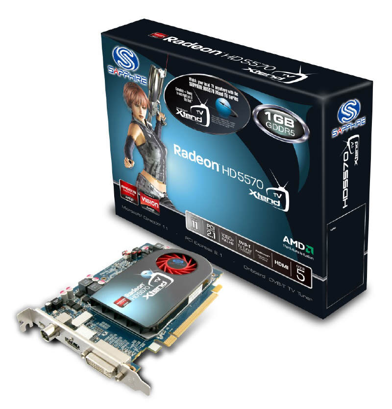 Скачать драйвер AMD Radeon HD 5570