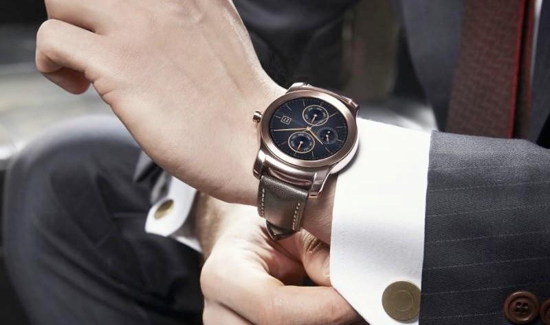 stylish watch from LG or Watch Urbane