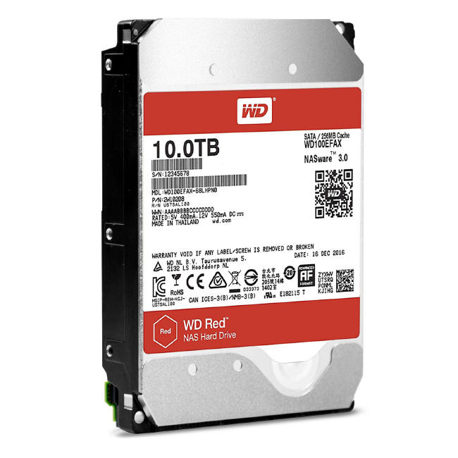 WD Red Pro NAS 10 GB