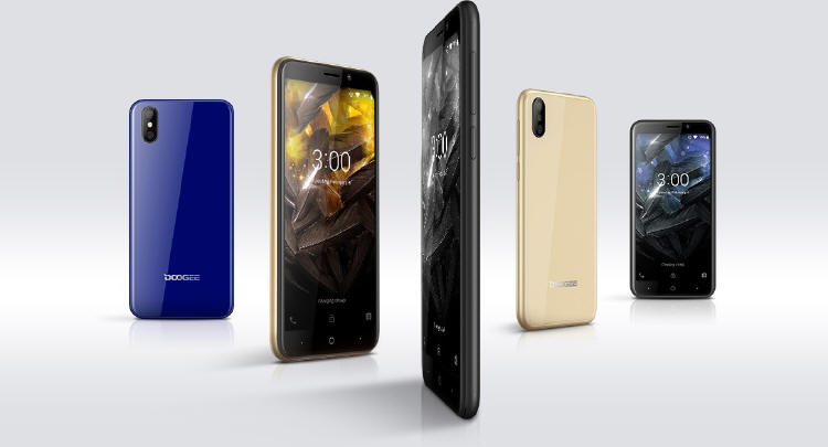 Doogee X50L z Android 8.1 GO i FaceID