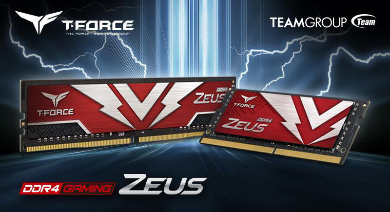 TEAMGROUP T-FORCE ZEUS DDR4 dla PC i laptopów